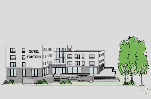 Ein neues Hotel soll fehlende Übernachtungskapazitäten ausgleichen. Foto: Büro Sebrle
