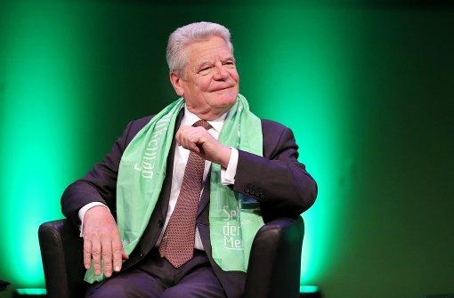 Joachim Gauck – Der Präsident als Mutmacher