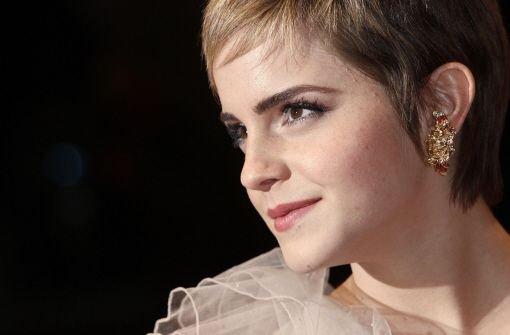 Emma Watson lässt die Haare wachsen