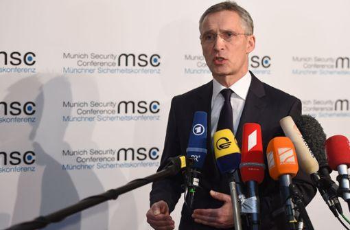 Nato warnt EU vor Konkurrenzdenken
