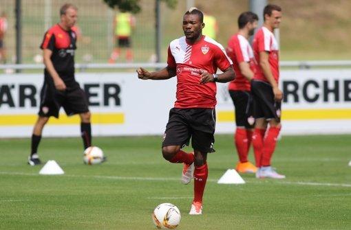 Serey Dié wieder im Training