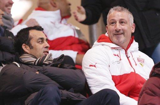 Beim VfB Stuttgart läuft es derzeit. Es ist nur noch eine Frage der Zeit, bis die ersten Fans europäische Ansprüche geltend machen. Foto: Baumann