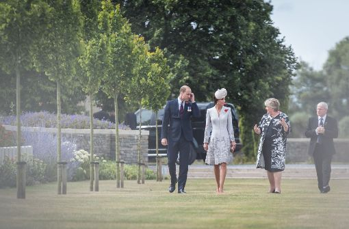 William und Kate in Belgien: Das Kleid der Herzogin kennen wir doch!