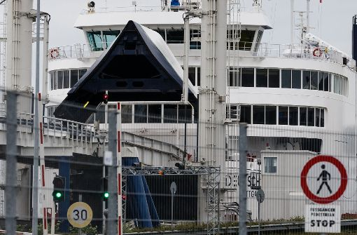 Fähren verlassen nach Bombendrohung Puttgarden
