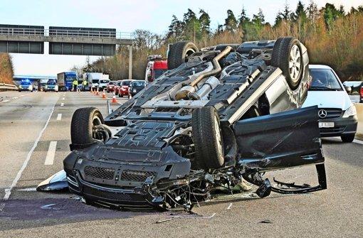 A8: Mehr Unfälle trotz flexibler Tempoanzeigen