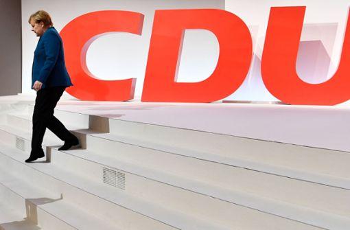Angela Merkel tritt als CDU-Vorsitzende ab,  Foto: AFP