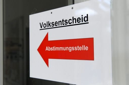 SPD-Antrag für eine Volksabstimmung über Stuttgart 21 ist im Landtag abgelehnt worden. Foto: dpa