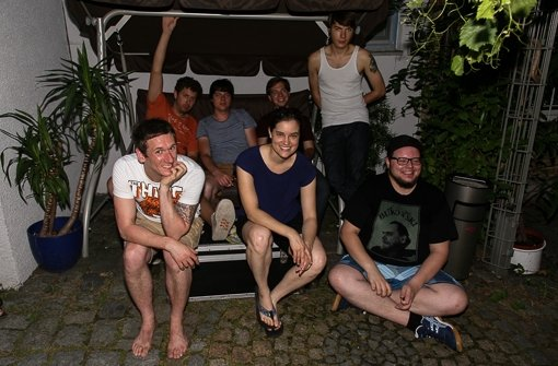 "Yasmine Tourist mit Vor-""Band"" Liv Foto: Christoph Hoyer"