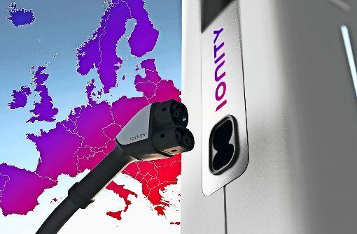 Ladestationen an Europas Autobahnen Ford, Daimler & VW gründen erstes E-Power-Netz