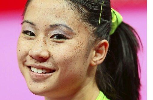 Im Einsatz beim DTB-Pokal: Kim Bui. Foto: Getty Images Europe