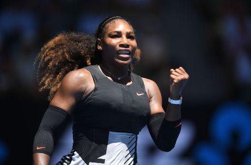 Serena Williams steht im Viertelfinale