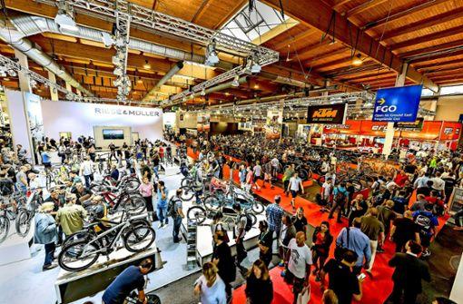 Dieses Jahr war auf der Eurobike nur Fachpublikum zugelassen. Foto: Eurobike Friedrichshafen