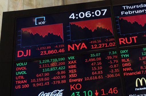 Kursrutsch verunsichert Anleger