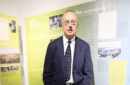 Manfred Schmid vom Stadtmuseum geht in den Ruhestand