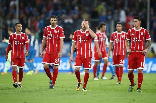 Niederlage in Sinsheim: Hoffenheim entwickelt sich für die Bayern allmählich zum Angstgegner. Foto: Bongarts