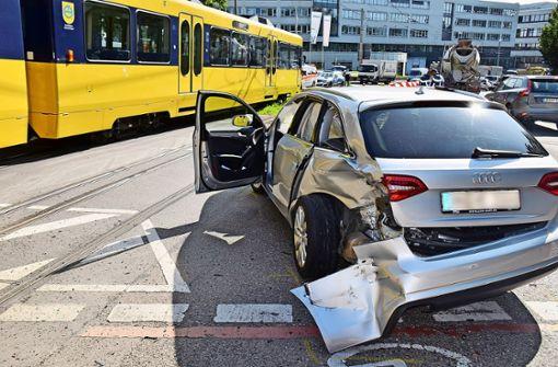 Extremer Anstieg der Stadtbahnunfälle