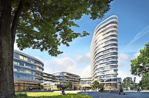 Die Allianz möchte ein Hochhaus und vier Nebenbauten errichten. Foto: privat