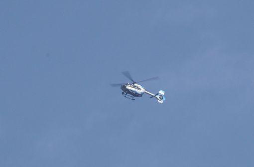 Mit ihrem Ausflug löste die Kuh einen Hubschraubereinsatz aus. Foto: SDMG