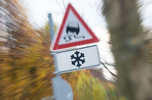 Glättegefahr steigt in Baden-Württemberg