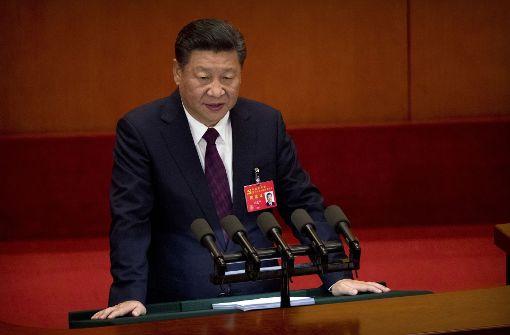 Xi Jinping warnt vor ernsten Gefahren