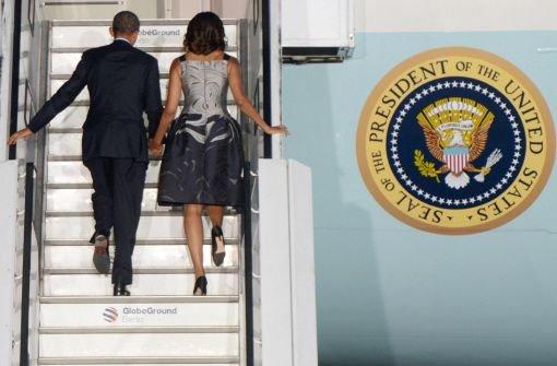Obama beendet Besuch bei Freunden