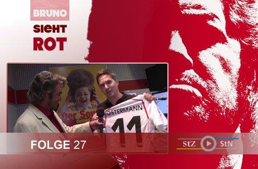 Bruno sieht rot: Der Besuch bei ANTENNE1