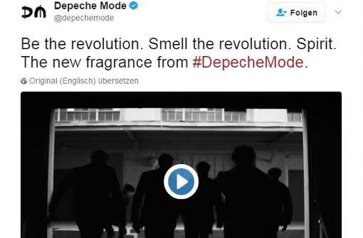 So nimmt Depeche Mode die Fans auf den Arm