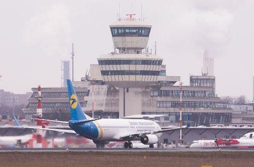 Flugverkehr in Berlin-Tegel läuft wieder an