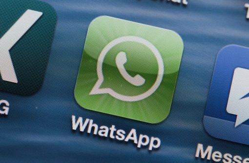 Jetzt für unseren Whatsapp-Newsletter anmelden Foto: dpa-Zentralbild