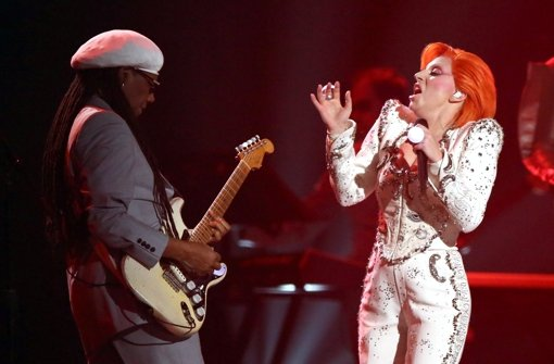 Lady Gagas Tribut an David Bowie