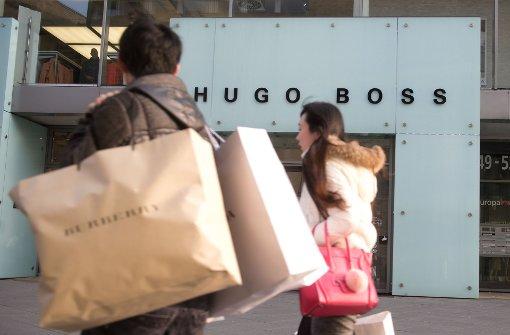 Hugo Boss rechnet erst 2018 wieder mit Wachstum
