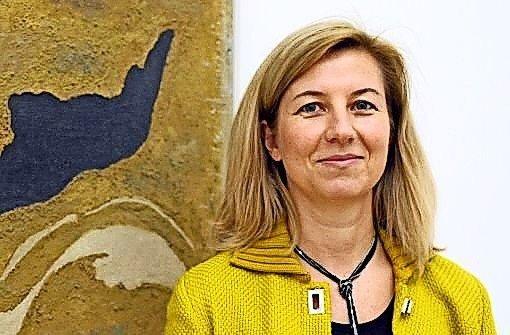 Stuttgarts Kunstmuseums-Direktorin Ulrike Groos Foto: dpa