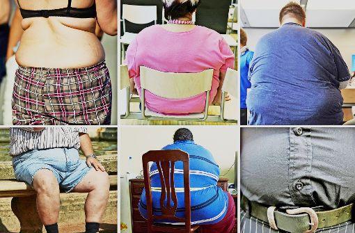 Immer dickere Menschen