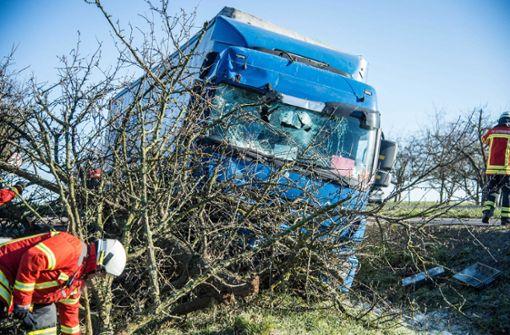 Die genaue Unfallursache konnte die Polizei noch nicht feststellen. Foto: SDMG