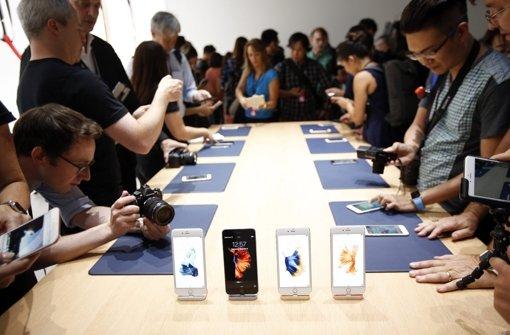 Apple-Flaggschiffe sind Verkaufsschlager