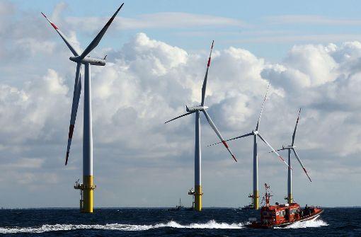 EnBW baut neue Windkraft-Anlage in der Nordsee