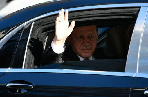 Erdogan fühlt sich von Deutschland ungastlich behandelt