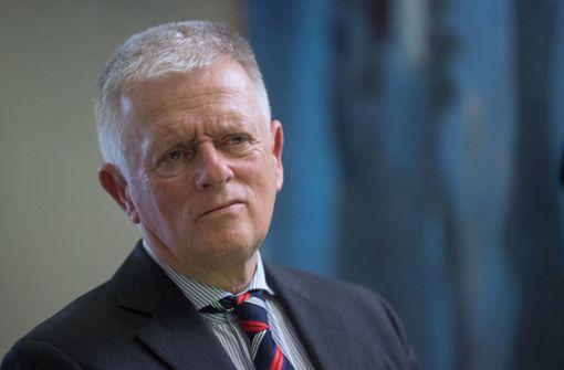 """Oberbürgermeister Fritz Kuhn (Grüne) spricht am Freitag auf der Kundgebung """"Gemeinsam Vielfalt leben"""". Foto: dpa"""