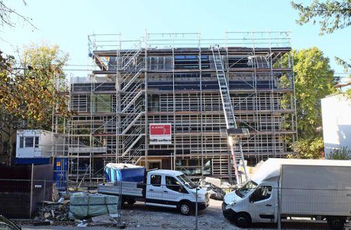 Fertigstellung des Neubaus verzögert sich