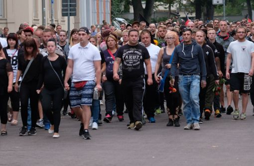 2500 Menschen bei rechter Kundgebung