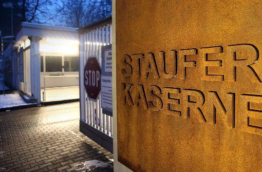 Staufer-Kaserne erneut im Visier