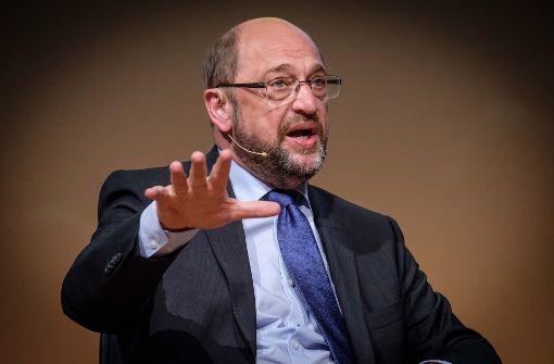 1700 Besucher verfolgten den Auftritt von SPD-Kanzlerkandiat Martin Schulz in der Stuttgarter Liederhalle. Foto: Lichtgut/Achim Zweygarth