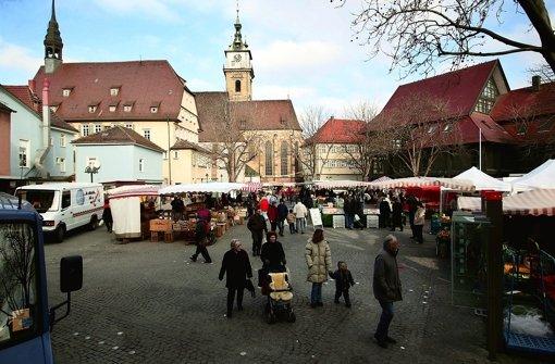 Streit um autofreien Marktplatz