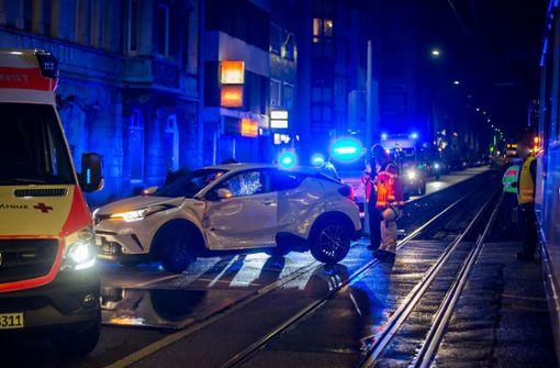 Der Unfall ereignete sich um kurz nach 0 Uhr. Foto: 7aktuell.de/Simon Adomat