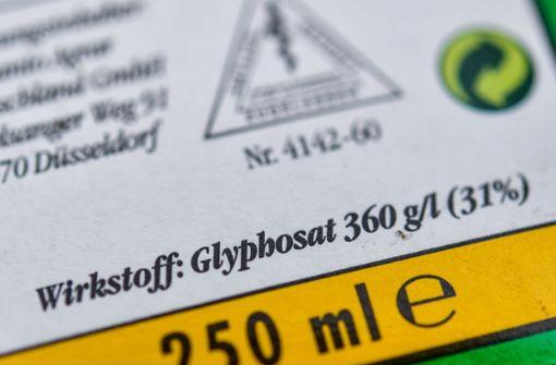Das Pestizid Glyphosat soll in Stuttgart weniger benutzt werden. Foto: dpa-Zentralbild