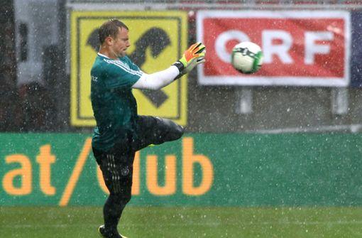 Starkregen und Hagel – Deutschland-Spiel beginnt später