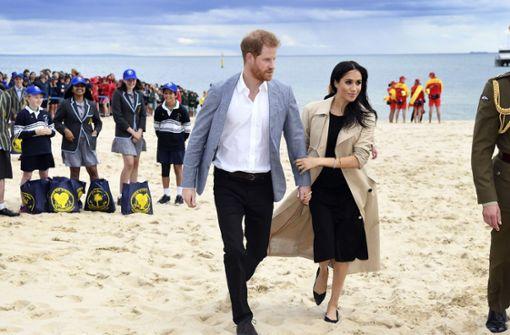 Herzogin Meghan trägt Recyclingschuhe