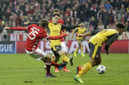 Bayern liefern gegen Arsenal Torspektakel