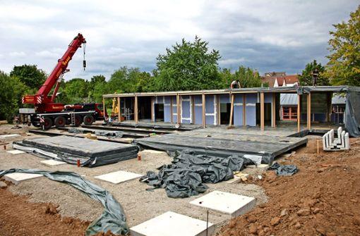 Neubau der Schule ist nicht mehr im Zeitplan