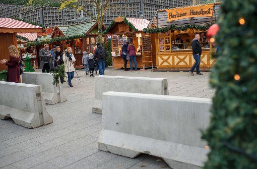 Berliner Weihnachtsmarkt wieder offen